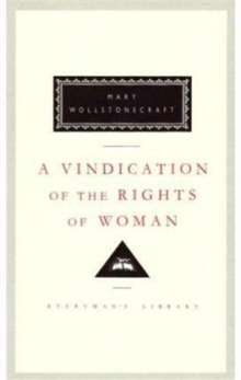 Image for A Vindication of the Rights of Woman