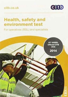 Image for Health, Safety and Environment Test for Operatives (BSL) and Specialists