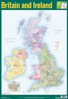 Image for British Isles and Ireland Wall Chart