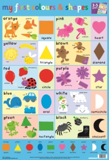 Image for Colours and Shapes Wall Chart