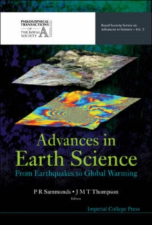 Image for Advances in Earth science  : from earthquakes to global warming