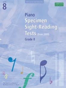 Image for Piano specimen sight-reading tests  : from 2009: ABRSM grade 8