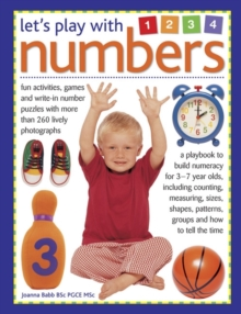 Image for Let's play with numbers  : fun activities, games and write-in number puzzles with more than 260 lively photographs
