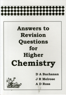 Image for Answers to Revision Questions for Higher Chemistry