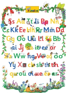 Image for Jolly Phonics Letter Sound Poster : in Precursive Letters (British English edition)