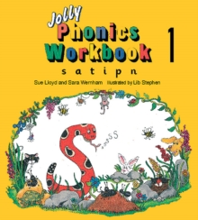 Image for Jolly Phonics Workbook 1 : in Precursive Letters (British English edition)