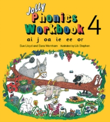 Image for Jolly Phonics Workbook 4 : in Precursive Letters (British English edition)