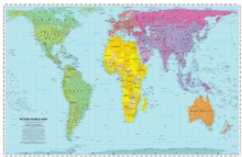 Image for Peters World Map : Folded