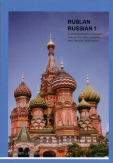 Image for Ruslan Russian 1  : a communicative course for beginners in RussianA1