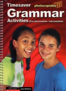 Image for Grammar Activities Pre-Intermediate and Intermediate