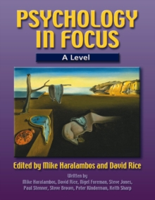 Image for Psychology in focusA level