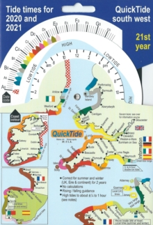 Image for QuickTide south west : Tide times for 2020 and 2021:  21st year
