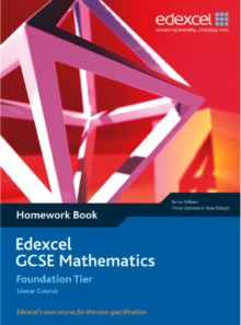 Image for Edexcel GCSE Maths: Linear Foundation Homework book