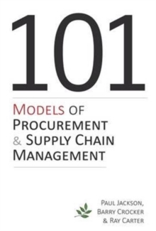 Image for Models of procurement & supply chain management