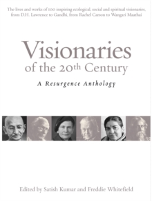 Image for Visionaries of the 20th century  : a Resurgence anthology