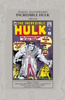 Image for The Incredible HulkVol. 1: 1962-64