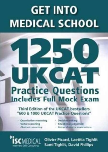 Image for Get into medical school  : 1250 UKCAT practice questions