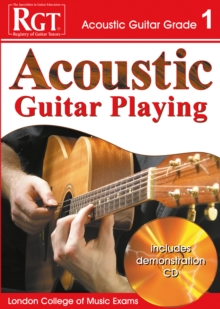 Image for Acoustic guitar playing, grade 1