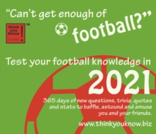 Image for Can't Get Enough of Football Box Calendar 2021
