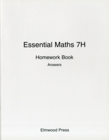Image for Essential Maths 7H Homework Book Answers