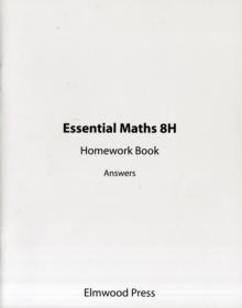 Essential Maths 8H Homework Book Answers