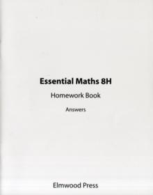 Essential Maths 8H Homework Book Answers