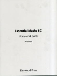 Image for Essential Maths 8C Homework Book Answers