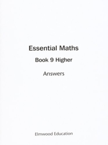 Image for Essential Maths 9 Higher Answers