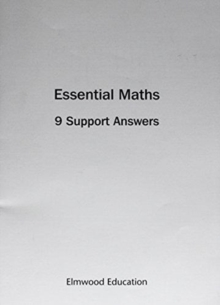 Image for Essential Maths 9 Support Answers