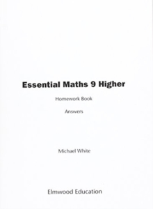 Essential Maths 9 Higher Homework Book Answers