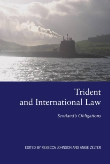 Image for Trident and International Law : Scotland's Obligations