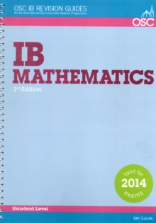 Image for IB Mathematics Standard Level : For Exams from May 2014