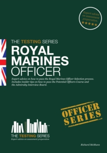 Image for Royal Marines officer  : passing the selection process