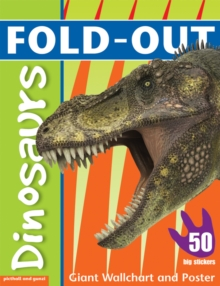 Image for Fold-Out Poster Sticker Book: Dinosaurs