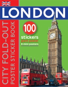 Image for Fold-Out Poster Sticker Book: London