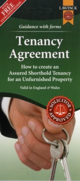 Image for Unfurnished Tenancy Agreement Form Pack