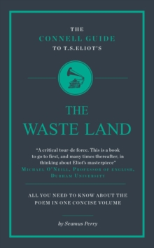 Image for The Connell guide to T.S. Eliot's The waste land
