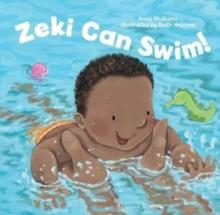 Image for Zeki can swim!