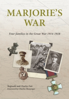 Image for Marjorie's War : Four Families in the Great War 1914-1918