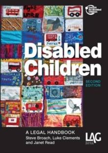 Image for Disabled children  : a legal handbook