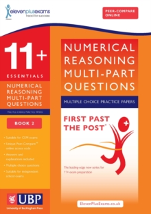 Image for 11+ Numerical Reasoning for CEM: Multipart Multiple Choice : Book 2