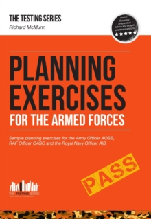 Image for Planning Exercises for the Army Officer, RAF Officer and Royal Navy Officer Selection Process