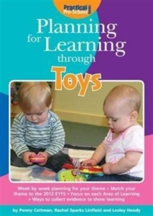 Image for Planning for learning through toys