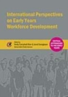 Image for International perspectives on early years workforce development
