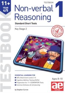 Image for 11+ Non-verbal Reasoning Year 4/5 Testbook 1 : Standard Short Tests
