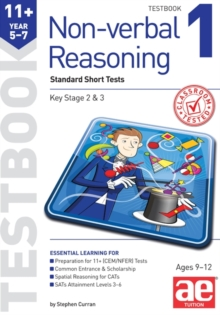 Image for 11+ Non-verbal Reasoning Year 5-7 Testbook 1 : Standard GL Assessment Style 10 Minute Tests