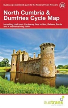 Image for North Cumbria & Dumfries Cycle Map 35 : Including Hadrian's Cycleway, Sea to Sea, Reivers Route and 4 Individual Day Rides