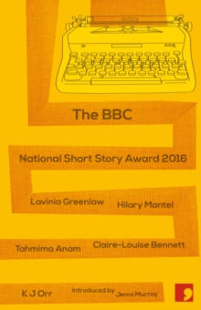 Image for The BBC national short story award 2016 with BookTrust