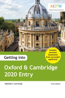 Image for Getting into Oxford & Cambridge.