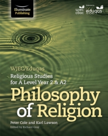 Image for WJEC/Eduqas religious studies for A level Year 2 & A2: Philosophy of religion